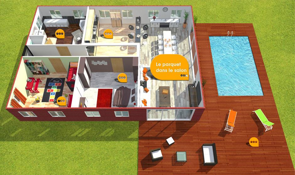 chaque pi ce son parquet choisir son parquet. Black Bedroom Furniture Sets. Home Design Ideas