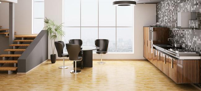 parquet cuisine ouverte with parquet cuisine ouverte interesting cuisine ouverte salon. Black Bedroom Furniture Sets. Home Design Ideas